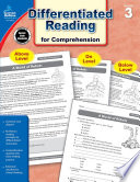 Differentiated Reading for Comprehension  Grade 3