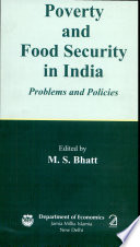 Poverty and Food Security in India