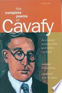 The Complete Poems of Cavafy [i.e. K. P. Kabaphēs]