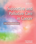 Supportive and Palliative Care in Cancer