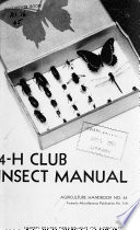4-H Club Insect Manual