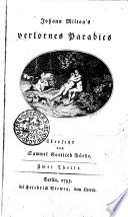 Johann Milton's verlornes Paradies