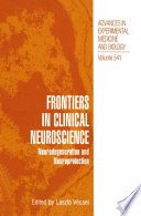 Frontiers in Clinical Neuroscience Book