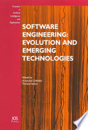 Software Engineering  Evolution and Emerging Technologies