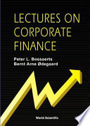 Lectures on Corporate Finance Book