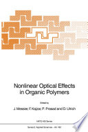 Nonlinear Optical Effects in Organic Polymers