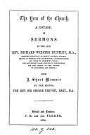 The year of the Church  sermons  with a memoir by the ed   sir G  Prevost