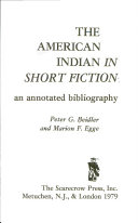 The American Indian in Short Fiction Book