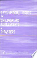 Psychosocial Issues For Children And Adolescents In Disasters Book PDF