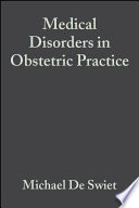 Medical Disorders in Obstetric Practice Book