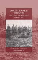 Pdf Voices on War and Genocide Telecharger