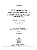 IEEE Workshop on Mathematical Methods in Biomedical Image Analysis Book