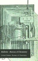 Bulletin   Bureau of Chemistry