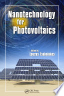 Nanotechnology for Photovoltaics Book