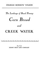 The Landscape of Rural Poverty  Corn Bread and Creek Water