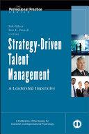 Strategy Driven Talent Management