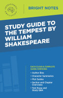 Study Guide to The Tempest by William Shakespeare
