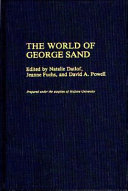 The World of George Sand