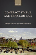 Contract  Status  and Fiduciary Law