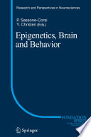 Epigenetics  Brain and Behavior Book