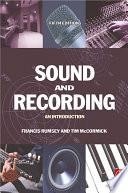 Sound and Recording Book PDF