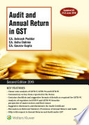 Audit And Annual Return In Gst 2 Ed