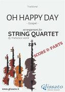 Oh Happy Day   String Quartet score   parts