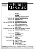 The Public Manager Book PDF