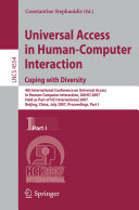 Universal Acess in Human Computer Interaction. Coping with Diversity [Pdf/ePub] eBook