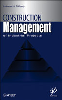 Construction Management for Industrial Projects Pdf/ePub eBook