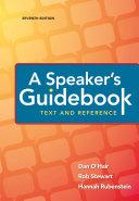 A Speaker s Guidebook
