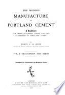 Machinery and kilns  1910