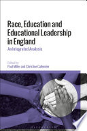 Race Education And Educational Leadership In England