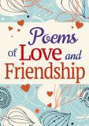 Poems of Love and Friendship Pdf/ePub eBook