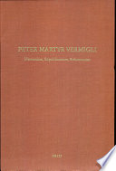 Read Online Peter Martyr Vermigli For Free