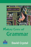 Books - Making Sense Of Grammar | ISBN 9780582848634