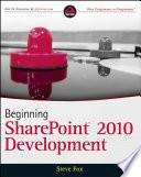 Beginning Sharepoint 2010 Development