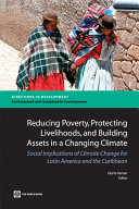 Pdf Reducing Poverty, Protecting Livelihoods, and Building Assets in a Changing Climate Telecharger