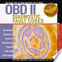 OBD II Diagnostic Fault Codes
