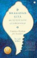 Bhagavad Gita on Effective Leadership [Pdf/ePub] eBook