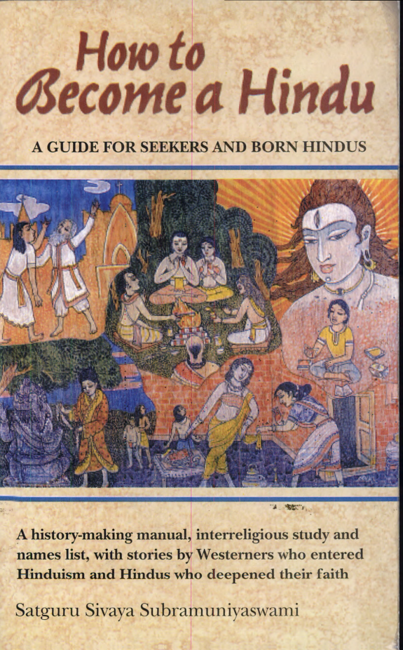 How to Become a Hindu