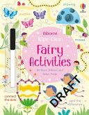 Wipe Clean  Fairy Activities