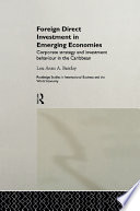 Foreign Direct Investment in Emerging Economies