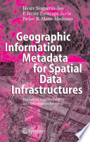 Geographic Information Metadata For Spatial Data Infrastructures Book PDF