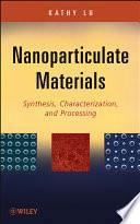 Nanoparticulate Materials