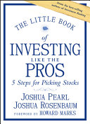 Pdf The Little Book of Investing Like the Pros