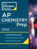 Princeton Review AP Chemistry Prep 2022