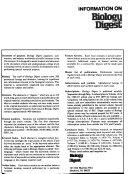 Biology Digest Book