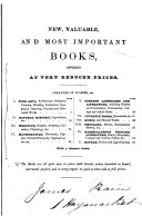 Catalogues of books