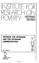 Reprint   Institute for Research on Poverty